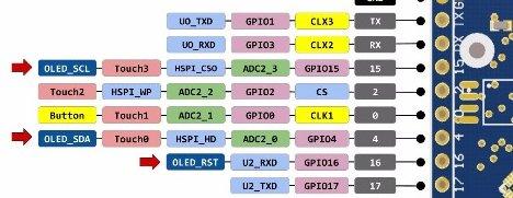 ESP32 Heltec I2C Pins