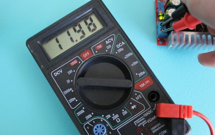 Checking Step Down Voltage