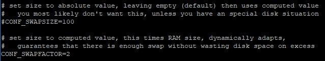 Edit Swapfile