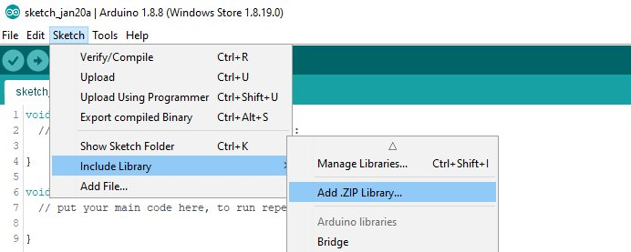 Include Zip Library