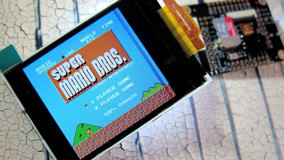 MicroPython NES Emulator on a RISC-V 64 Processor – Robot Zero