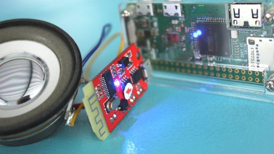 Raspberry Pi Zero W Bluetooth Speaker Connection Voice – Robot Zero